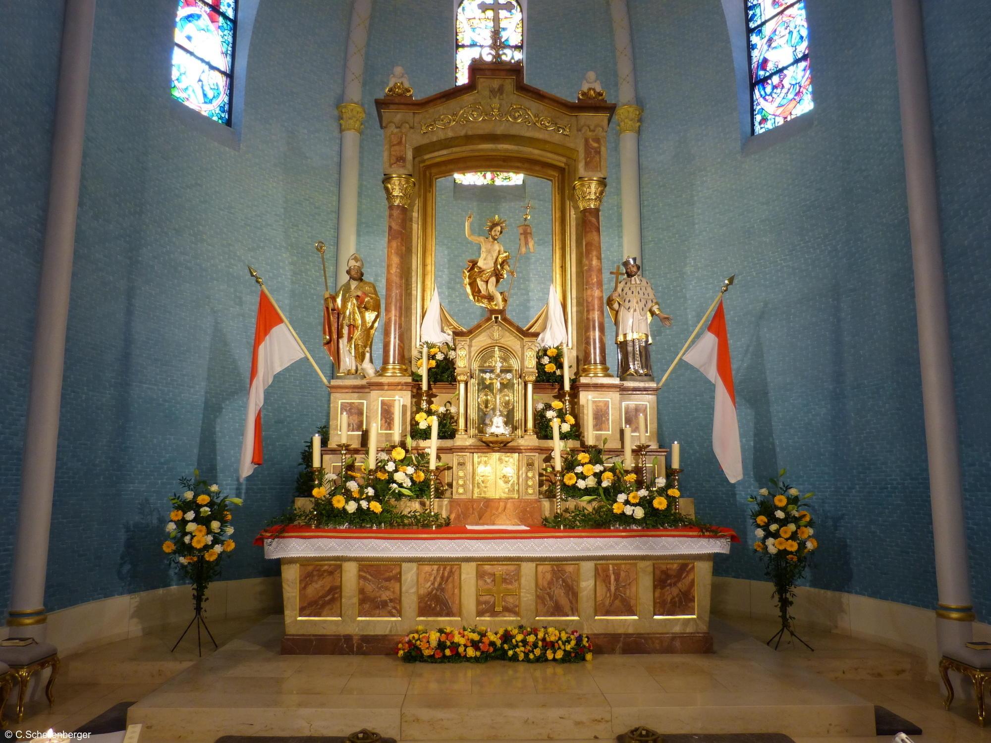 Ostern Kirche